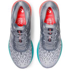 asics DynaFlyte 4 Schuhe Damen piedmont grey/pure silver